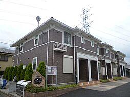 東京都武蔵村山市三ツ藤3丁目の賃貸アパートの外観