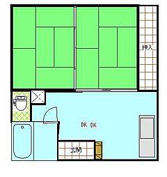 リベルタウィング[3階]の間取り