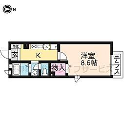 Maison cerisier(NO.746)[103号室]の間取り