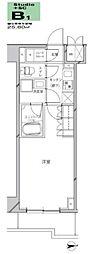 JR京浜東北・根岸線 川崎駅 徒歩21分の賃貸マンション 2階1Kの間取り