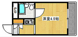 グランシャトー橘[3階]の間取り