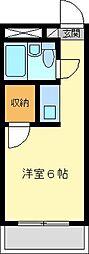 金沢八景相川ビル[402号室]の間取り