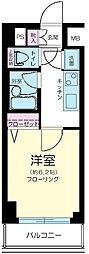東京都目黒区青葉台3丁目の賃貸マンションの間取り