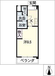 リプレハイレイク[2階]の間取り