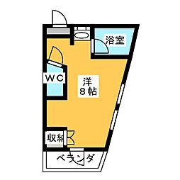 メゾンルーブル[2階]の間取り