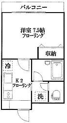 レジデンス白金[402号室]の外観
