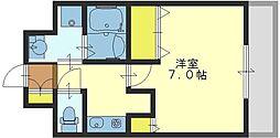 GOODLIFE岩田[2階]の間取り