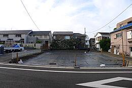 現地 南道路側からの画像です
