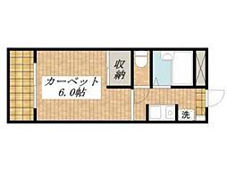 みのり2[1階]の間取り