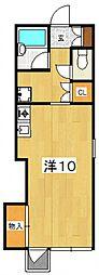 大町ハウス[205号室号室]の間取り