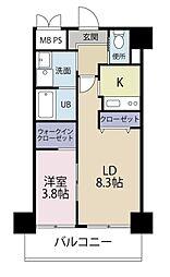ラファエロ[3階]の間取り