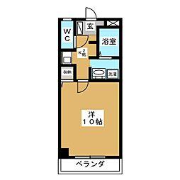 エクセレント柴田[2階]の間取り