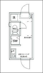 サークルハウス浮間弐番館[1階]の間取り