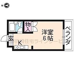 エクセラード京都[305号室]の間取り