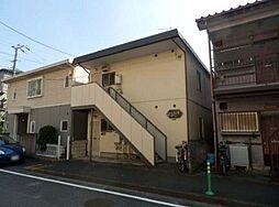 神奈川県川崎市高津区坂戸3丁目の賃貸アパートの外観