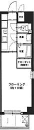 ソフトエース北浜[6階]の間取り