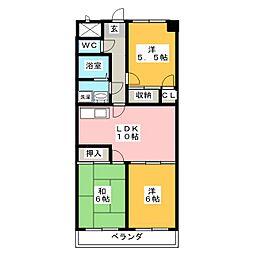 さくら亭[2階]の間取り