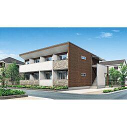 静岡県静岡市清水区草薙杉道の賃貸アパートの外観