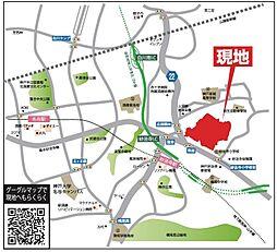 妙法寺駅より桜...