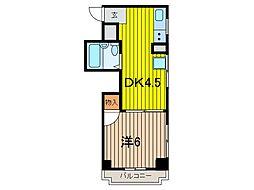 スパックス南浦和[3階]の間取り