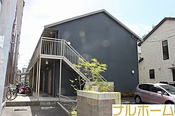 大阪府大阪市平野区加美北2丁目の賃貸アパートの外観