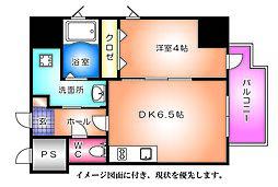 KATAYAMA BLDG  25[301号室]の間取り