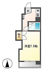 コーポ伊勢山[3階]の間取り