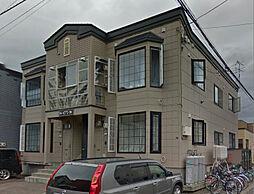北海道札幌市東区北二十四条東22丁目の賃貸アパートの外観