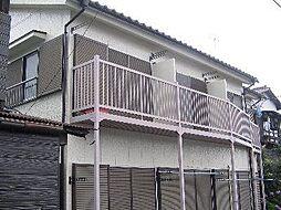 東京都青梅市本町の賃貸アパートの外観