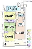 3LDK・専有面積70.03平米・バルコニー面積10.7平米