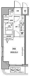 Le'a横濱中央[701号室]の間取り