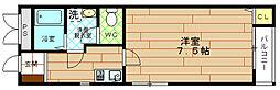 木谷第2ビル[3階]の間取り