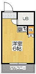 サンモール青木[3階]の間取り