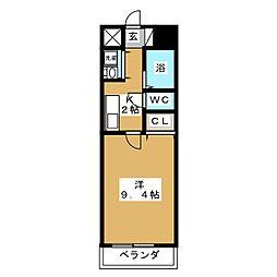 グラン・ドミール新寺[1階]の間取り
