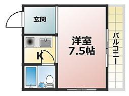 メゾン88[5階]の間取り