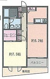 ピエーノ湘南石川[105号室]の間取り