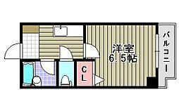 エフォールナガイ[603号室]の間取り