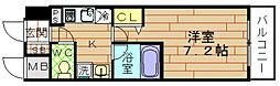 ラナップスクエア福島[2階]の間取り