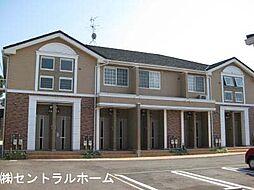 大阪府堺市東区草尾の賃貸アパートの外観