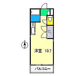 スペースボックス[2階]の間取り