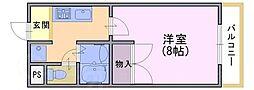 京琴館[1階]の間取り