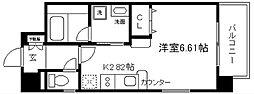 べラジオ京都神泉苑[3階]の間取り