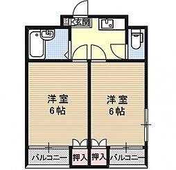 Stable西賀茂II[106号室号室]の間取り