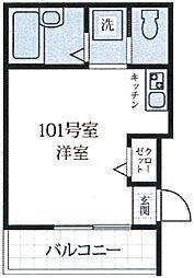 K-house 練馬高野台I 〜ケーハウスネリマタカノダイワン〜[1階]の間取り