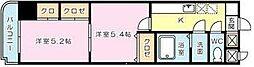 雅Senbou[305号室]の間取り