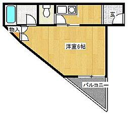 メゾン白鷺[3階]の間取り