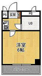 エクセレンス武庫之荘[201号室]の間取り