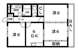 ルミナスマンション[305号室号室]の間取り