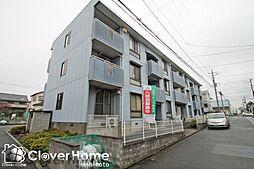 神奈川県相模原市中央区陽光台1丁目の賃貸マンションの外観