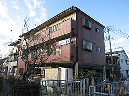 大阪府寝屋川市河北中町の賃貸マンションの外観